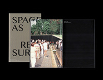 """Space as Reassurance"" Book Design"