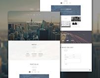 Creative Designer Website Mockup/Template