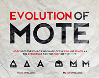 Mote Typeface