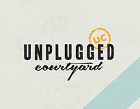 Unplugged Courtyard-Branding