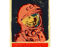 Cosmonaute Dogs series
