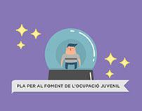 Pla per al foment de l'ocupació juvenil – Infographics