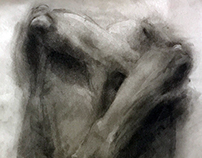 Fall 2016- Spring 2017 Charcoal Drawings