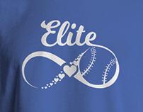 Elite baseball team shirt