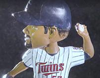 Minnesota Twins: Johan Santana Bobblehead Ad