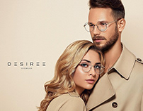 Сampaign for DESIREE eyewear
