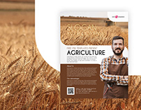 Free Agriculture Flyer in PSD