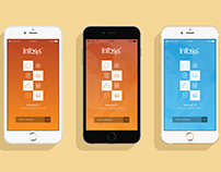 Infosys Splash Screen App