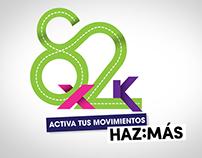 8x2k maraton Rexona
