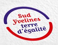 Logo Sud Yvelines terre d'égalité