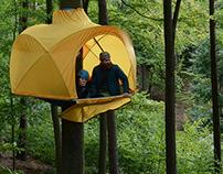 HUBA Namiot na drzewie Tree tent
