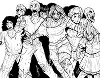 Zombie Illustrations