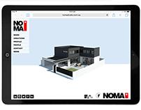 NOMA* Marketing Logo + Website