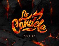 Carátula CD On Fire de La Candela Salsa Orchestra