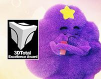"""Princesa Caroço - """"3DTotal Excellence Award"""""""
