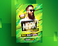 Nightclub Party Flyer Template - Adobe Photoshop