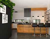 KITCHEN- for FRANCESCO DESIGN