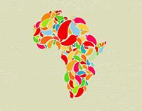 Nandos: Africa Map Concept