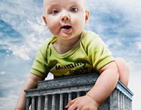 Baby lost in Washington