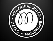 Metro & MailOnline Millennial Rules