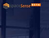 Spacesense - Homepage UI