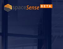 Spacesense - Homepage UI