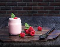 Yogurt Mockup 3D