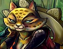 Dusty Revenge: Leopard cutscene