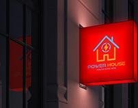 Power House logo Design