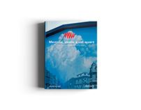 Design de publication - Montréal, musée à ciel ouvert