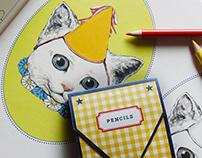 Kids Pencil Set gift | Gucci