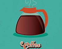 AdobeLive Contest - Vector Art Jan 9-11 Coffee