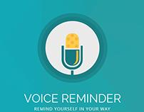 Voice Reminder IOS App