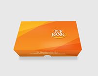 TCF Bank Check Boxes and Folders