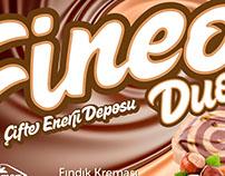 Lokman Kahvaltılık Fineo Duo Etiket Tasarımı