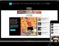 FNR - Football Nation Radio Website