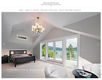 A website design for Vancouver construction and renovat