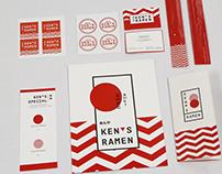 Ken's Ramen Rebranding