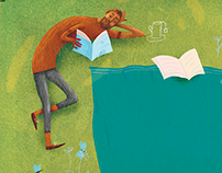 Children magazine illustrations