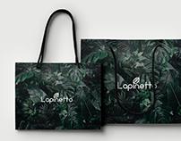 """Branding for flower shop """"Lapinetto"""""""