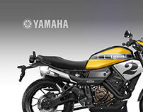 """YAMAHA XSR COOLEST BROTHER """"American Roadster"""""""