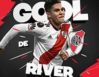 River Plate Goal - Social Media