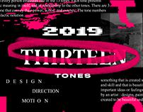 THIRTEENTONES   REEL 2019