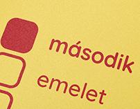 Második Emelet Rajziskola / Logo and icon set
