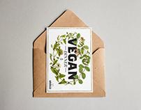 Vegan Dinner (Postcard)