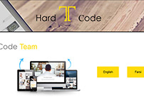 Hard Code Team Personal Website