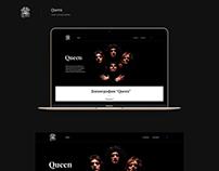 Мusic concept website