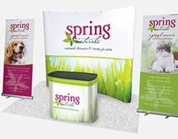 Spring Naturals Tradeshow Booth Design