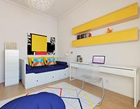Small 'Ikea' Room