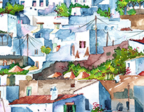 Watercolour: ARCHITECTURE
